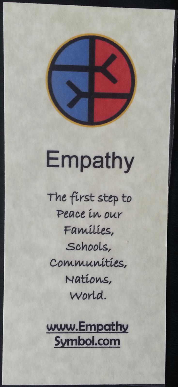 Empathy Symbol Laminat...