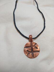 Empathy Symbol Copper Necklace