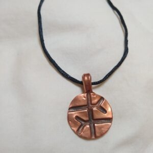 Empathy Symbol Copper Necklace